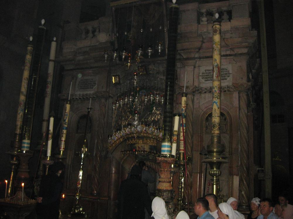 The Edicule of the Holy Sepulchre