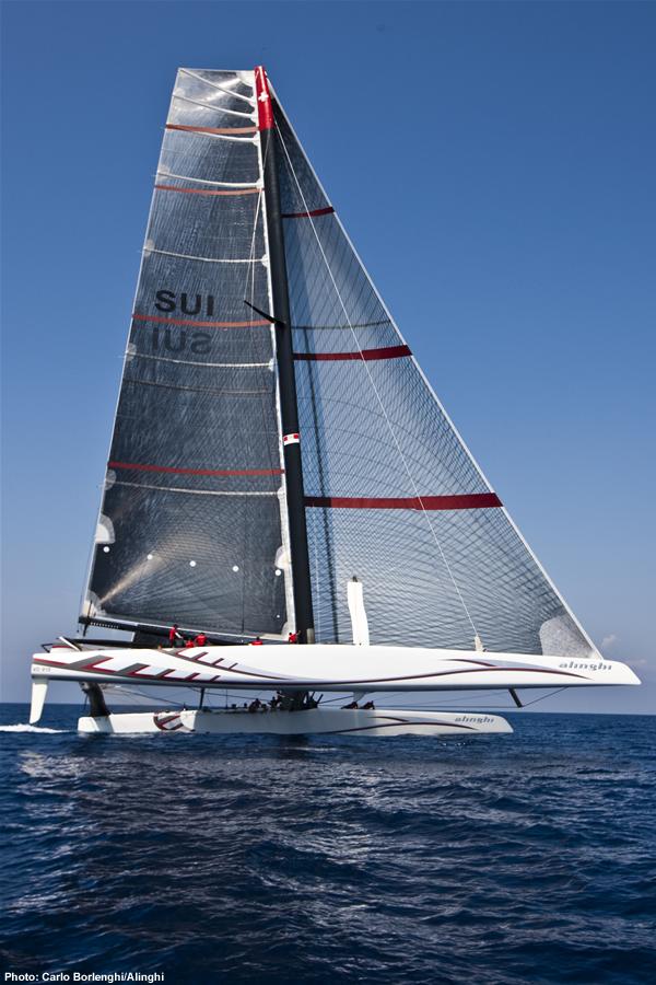 Alinghi 5 Catamaran