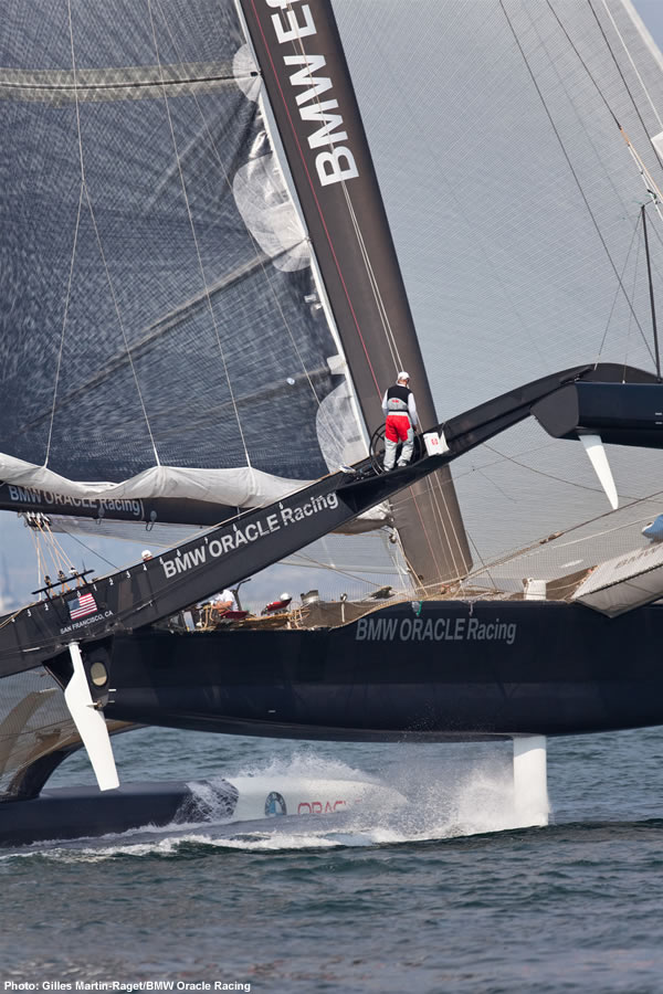BMW Oracle Trimaran