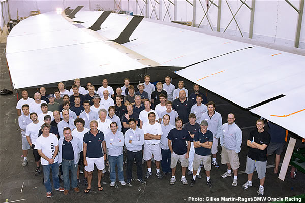 BMW Oracle Trimaran Wing Mast