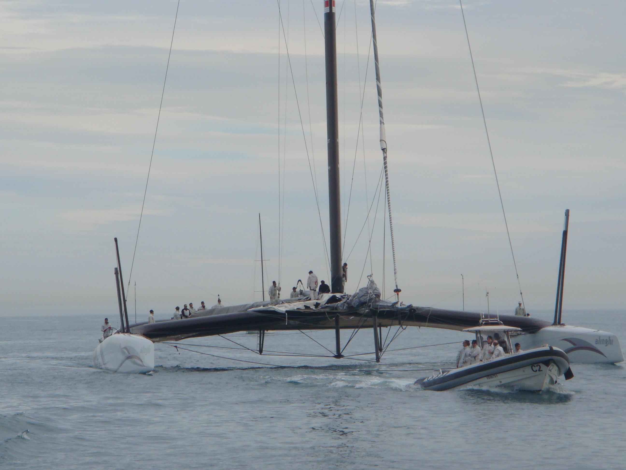 Alinghi - our favourite catamaran