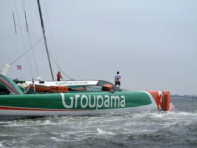 Groupama Triamaran (c) Yvan Zedda
