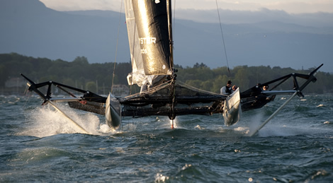 For outright speed the foils may be the way to go