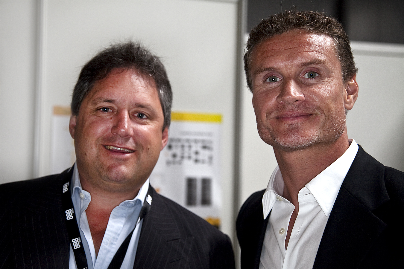 Meeting David Coulthard at the iGaming Super Show