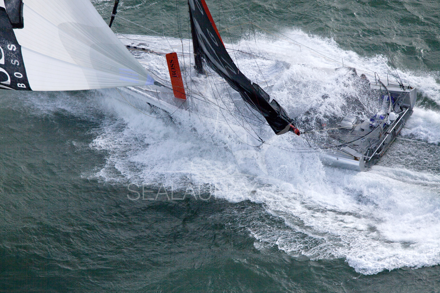 But they do get wet these boats.  Around the world in these conditions?  Crazy way to have fun!