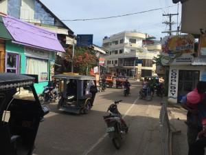 Coron main street